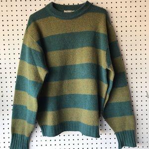 Vintage Striped Wool Sweater